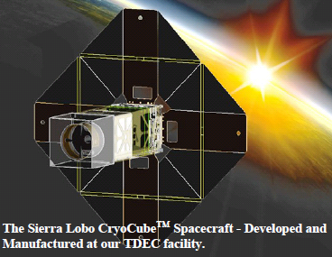 Sierra Lobo CryoCube Spacecraft - Developed and Manufactured at TDEC Facility