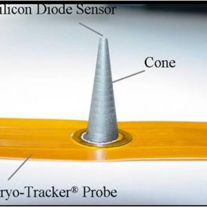 Cone-Mounted Diode Sensor Attached to Cryo-Tracker® Probe